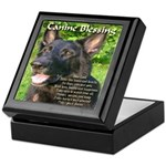 Canine Blessing Keepsake Box