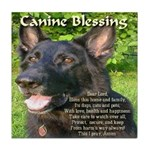 Canine Blessing Tile Coaster