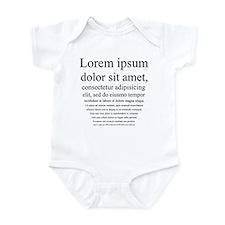 Lorem Ipsum Infant Bodysuit