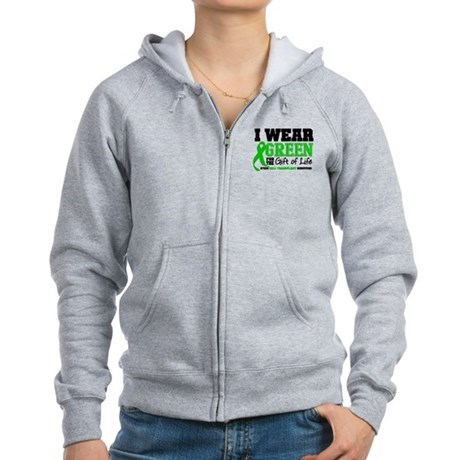 SCT I Wear Green Women's Zip Hoodie