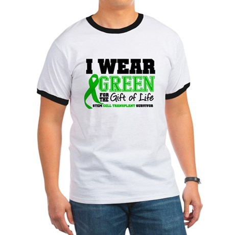 SCT I Wear Green Ringer T