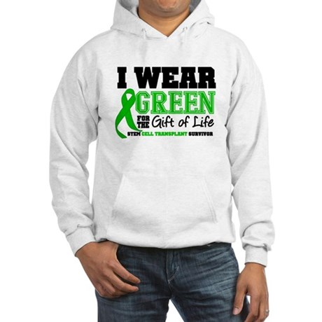 SCT I Wear Green Hooded Sweatshirt