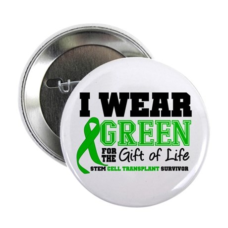 "SCT I Wear Green 2.25"" Button (100 pack)"