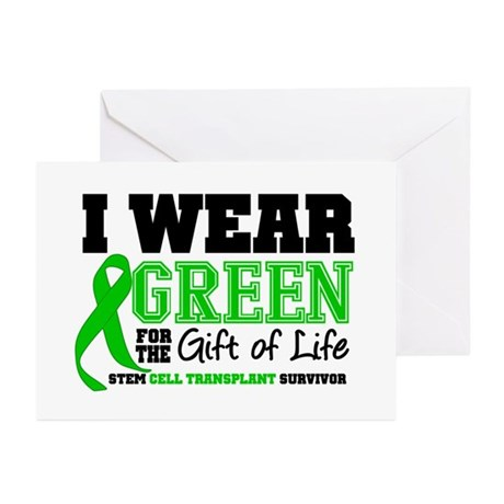 SCT I Wear Green Greeting Cards (Pk of 10)