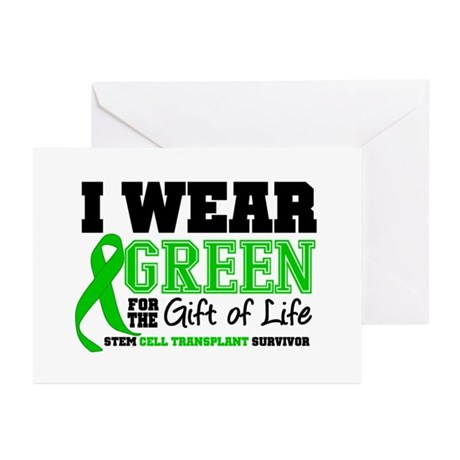 SCT I Wear Green Greeting Cards (Pk of 20)