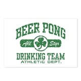 Irish Beer Pong Postcards (Package of 8)