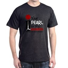 I Wear Pearl For My Daughter 9 T-Shirt