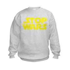 Stop Wars (A) Kids Sweatshirt