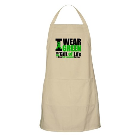 SCT I Wear Green BBQ Apron