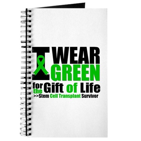 SCT I Wear Green Journal