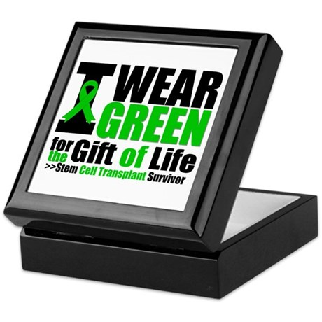 SCT I Wear Green Keepsake Box