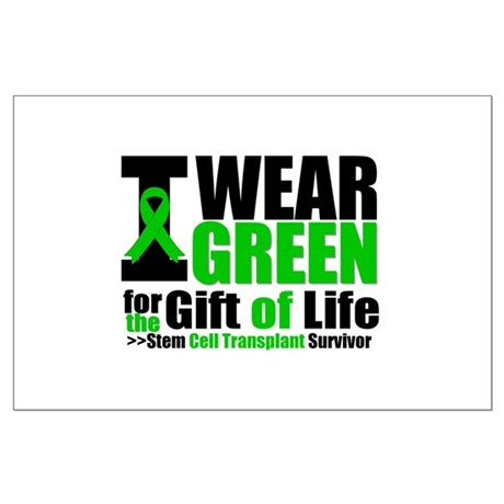 SCT I Wear Green Large Poster