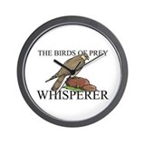 The Birds Of Prey Whisperer Wall Clock