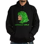 Shamrock Hair Naturally Curly Girl Hoodie (dark)