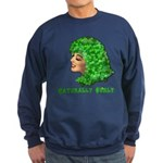 Shamrock Hair Naturally Curly Girl Sweatshirt (dar