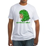 Shamrock Hair Naturally Curly Girl Fitted T-Shirt