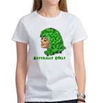 Shamrock Hair Naturally Curly Girl Women's T-Shirt