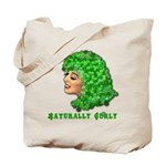 Shamrock Hair Naturally Curly Girl Tote Bag