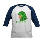 Shamrock Hair Naturally Curly Girl Kids Baseball J