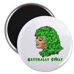 Shamrock Hair Naturally Curly Girl Magnet