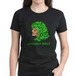 Shamrock Hair Naturally Curly Girl Women's Dark T-