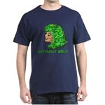 Shamrock Hair Naturally Curly Girl Dark T-Shirt