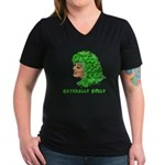 Shamrock Hair Naturally Curly Girl Women's V-Neck