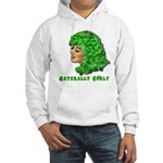 Shamrock Hair Naturally Curly Girl Hooded Sweatshi