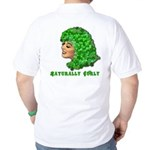 Shamrock Hair Naturally Curly Girl Golf Shirt