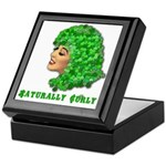 Shamrock Hair Naturally Curly Girl Keepsake Box