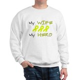 Hero Wife Yellow Sweatshirt