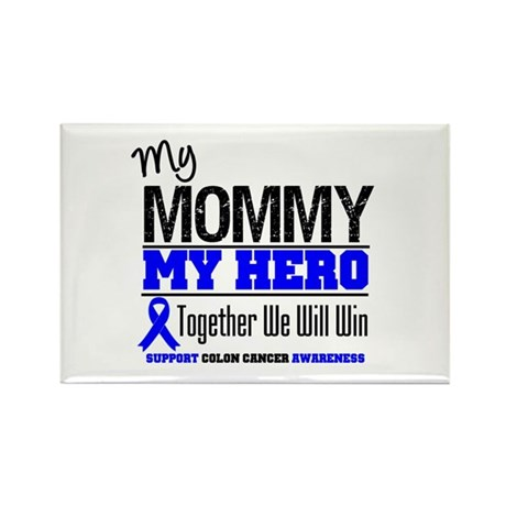 ColonCancerHero Mommy Rectangle Magnet