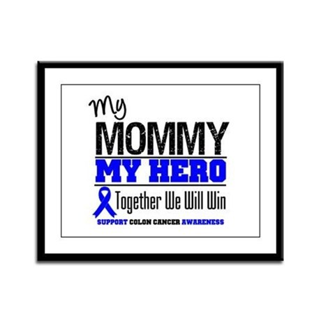 ColonCancerHero Mommy Framed Panel Print