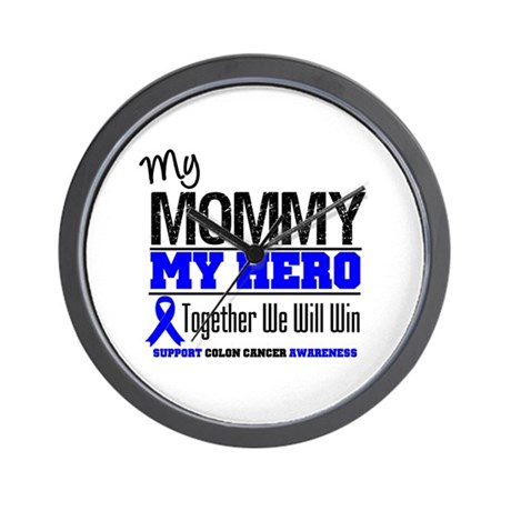 ColonCancerHero Mommy Wall Clock
