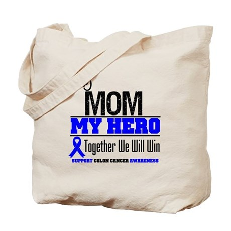 ColonCancerHero Mom Tote Bag