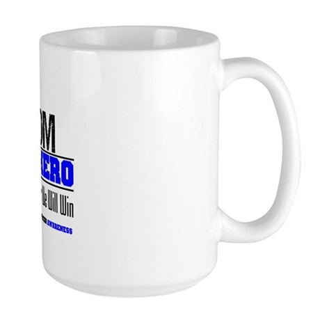 ColonCancerHero Mom Large Mug