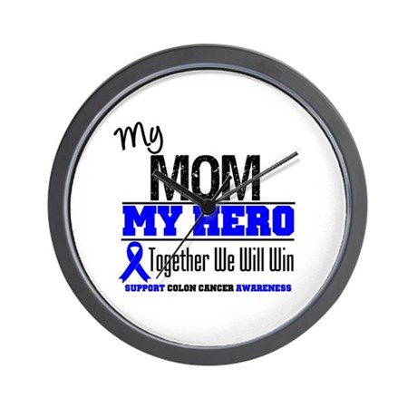 ColonCancerHero Mom Wall Clock