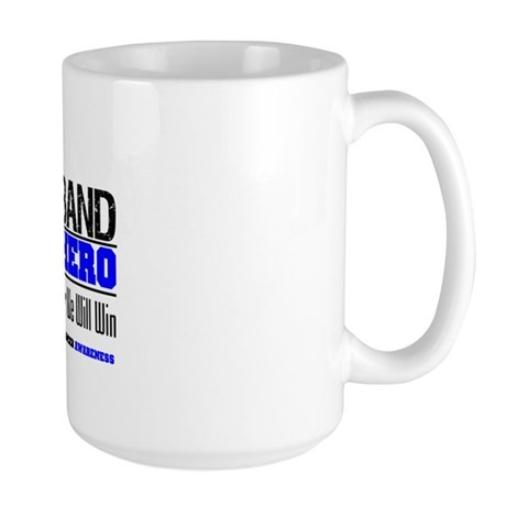 ColonCancerHero Husband Large Mug