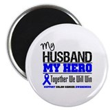ColonCancerHero Husband Magnet