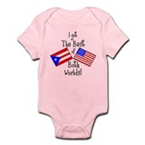 &quot;Puerto Rican American&quot; Infant Bodysuit