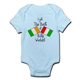 """Irish-Italian Kid""  Baby Onesie"