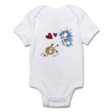 Milk and Cookies Infant Bodysuit