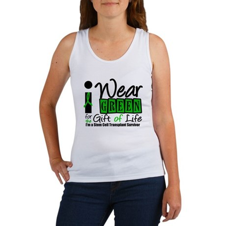 SCT I Wear Green Women's Tank Top