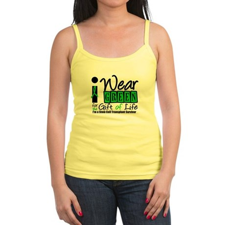 SCT I Wear Green Jr. Spaghetti Tank