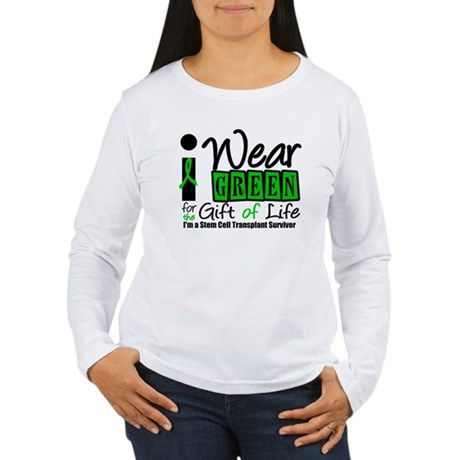 SCT I Wear Green Women's Long Sleeve T-Shirt