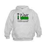 SCT I Wear Green Kids Hoodie