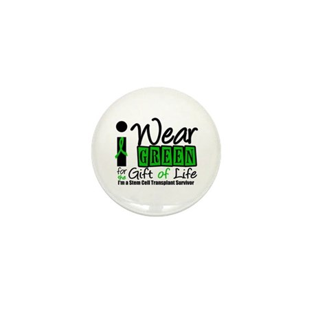 SCT I Wear Green Mini Button (10 pack)