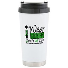 SCT I Wear Green Ceramic Travel Mug