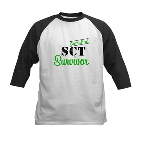 SCT I Wear Green Kids Baseball Jersey