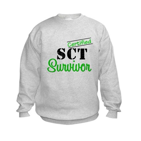 SCT I Wear Green Kids Sweatshirt